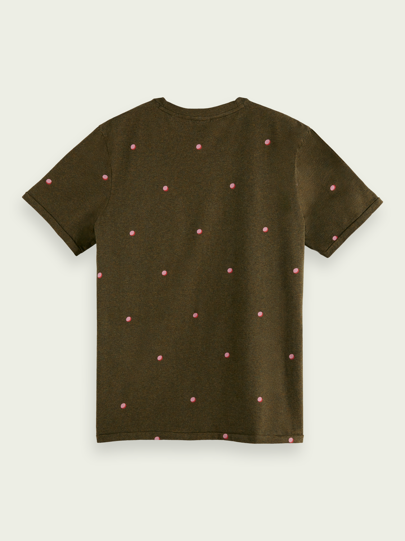 Herren T-Shirt mit Print aus Baumwolle