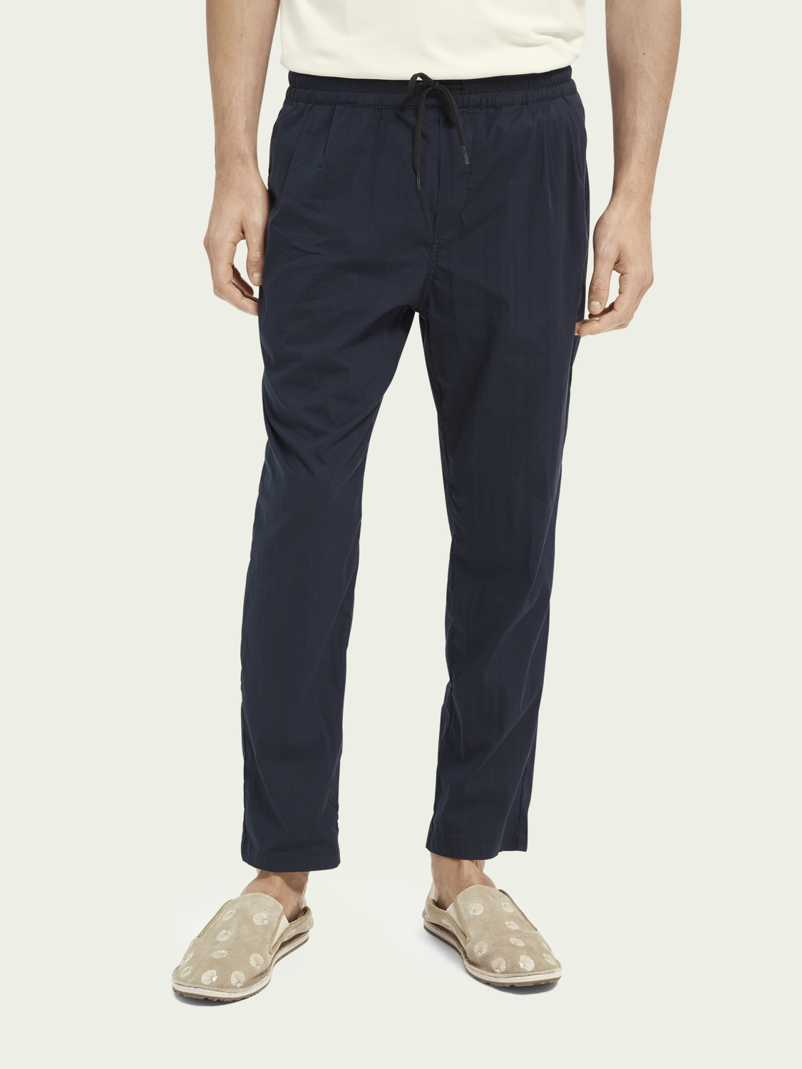 Men Relaxed-fit organic cotton-blend chino