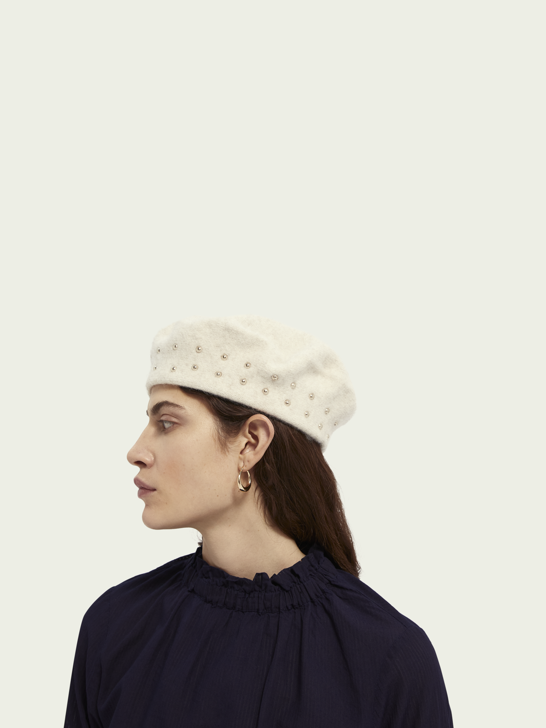 Women Wool-alpaca beret