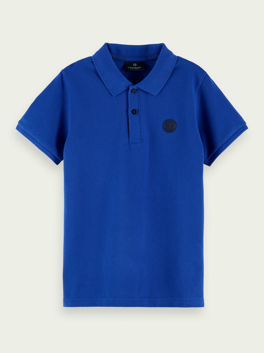 Kids Logo cotton polo