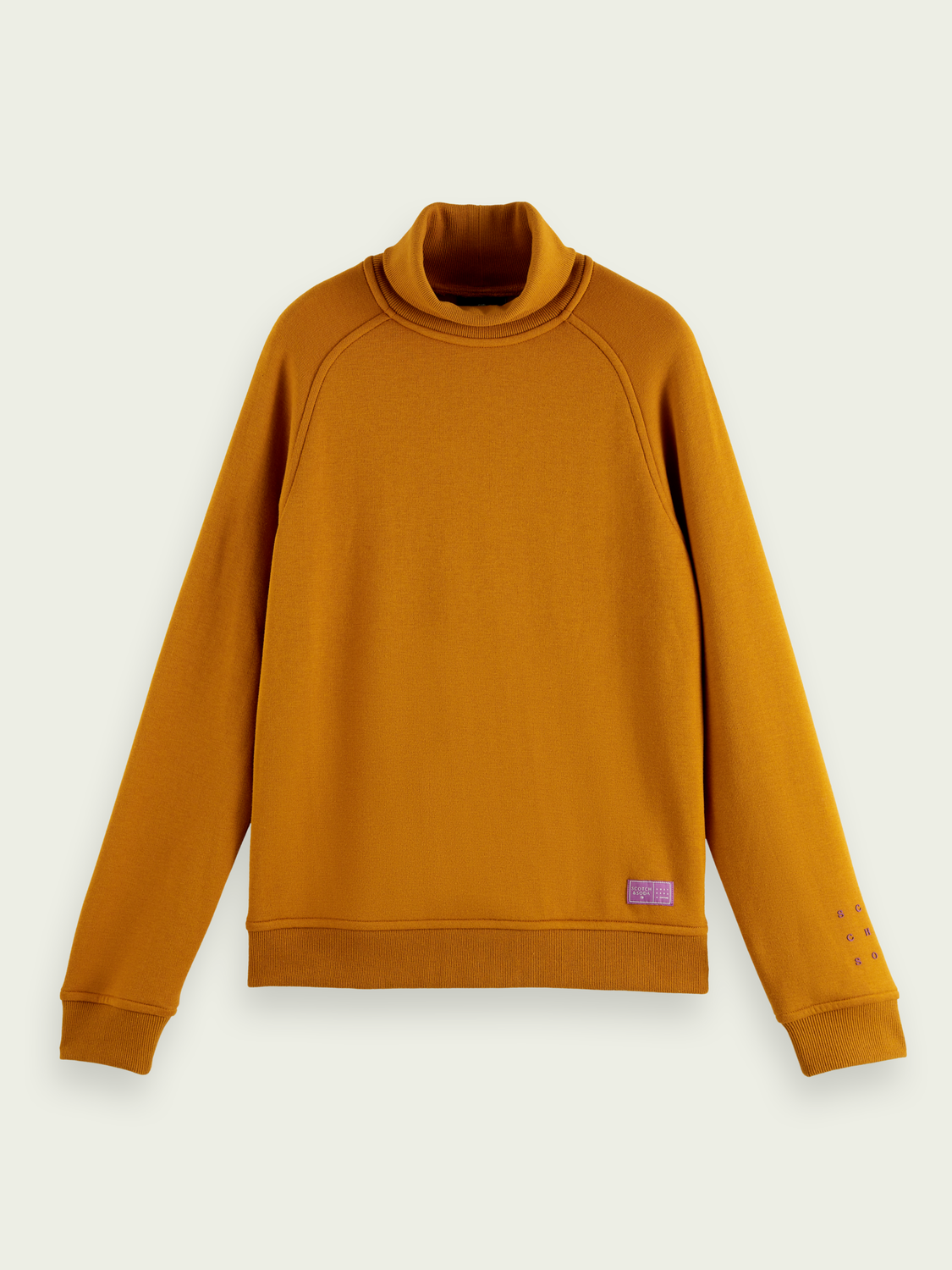 Men Soft high-neck sweater