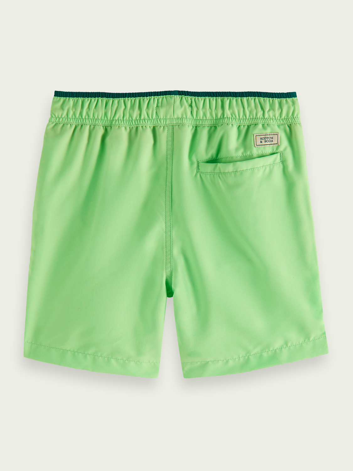 Kids Magic print recycled polyester swim shorts