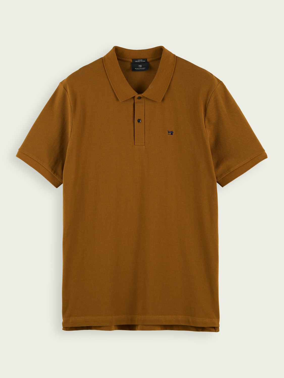 Men Classic organic cotton piqué polo
