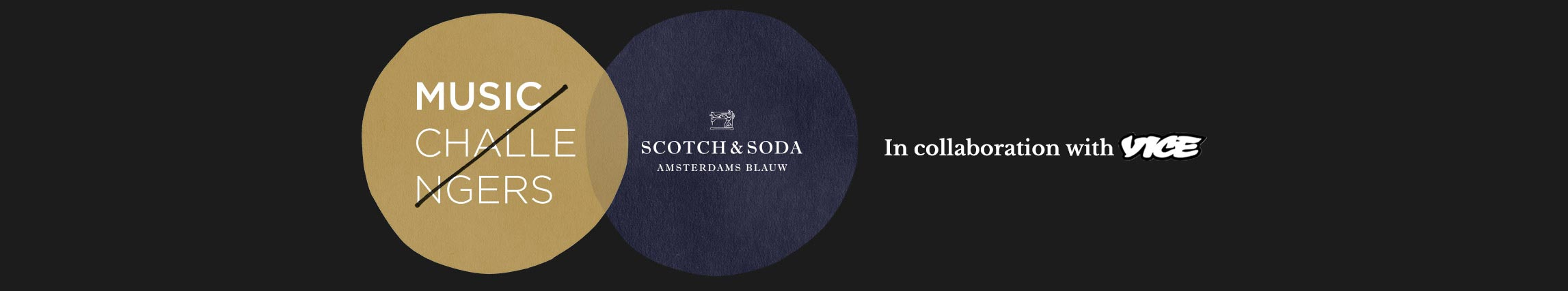 Scotch and soda featuring vice banner