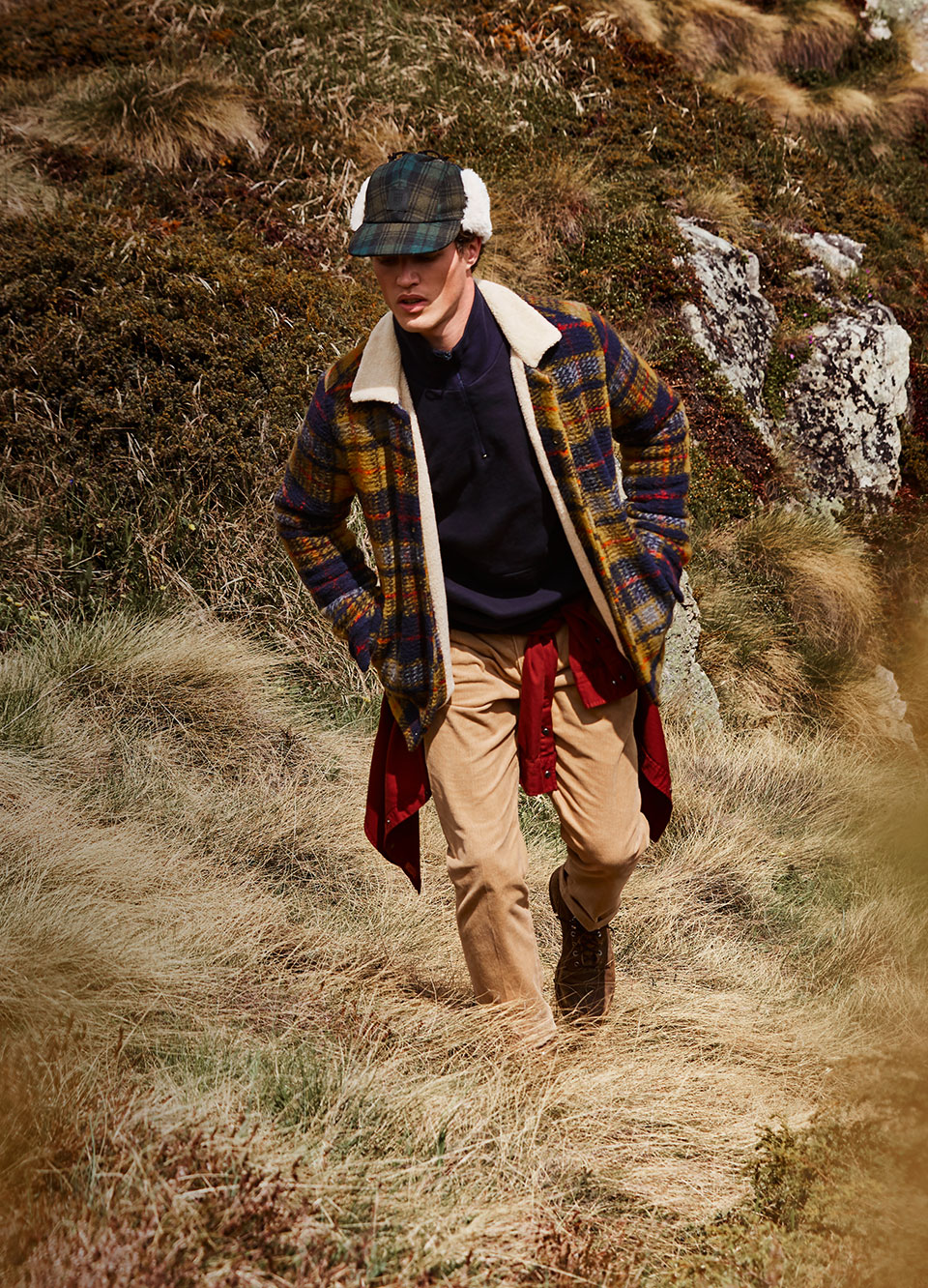 Autumn looks editorial men