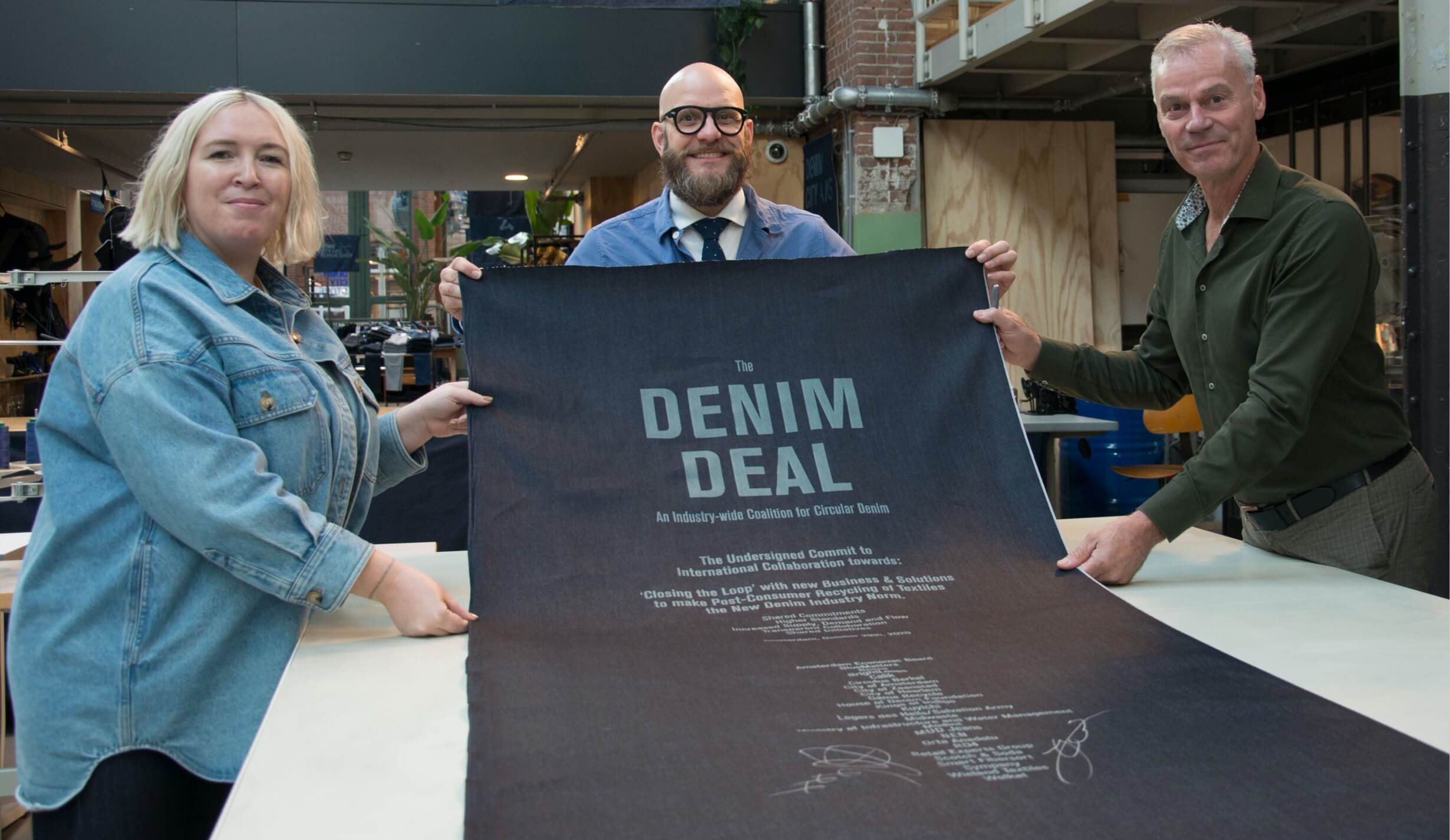 Responsible design denim deal