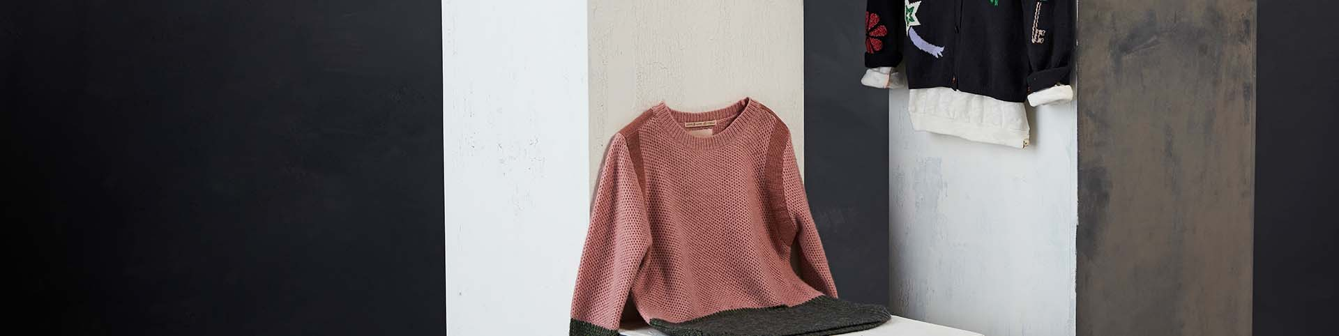 Girls' Pullovers & Cardigans