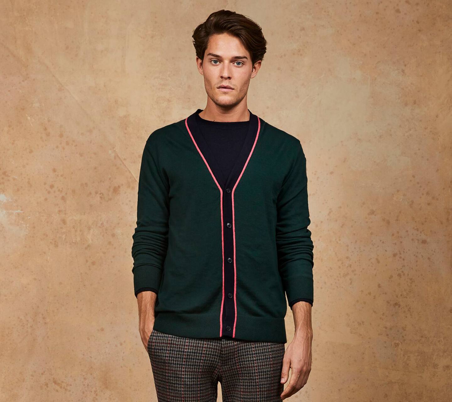 men's pullovers and cardigans