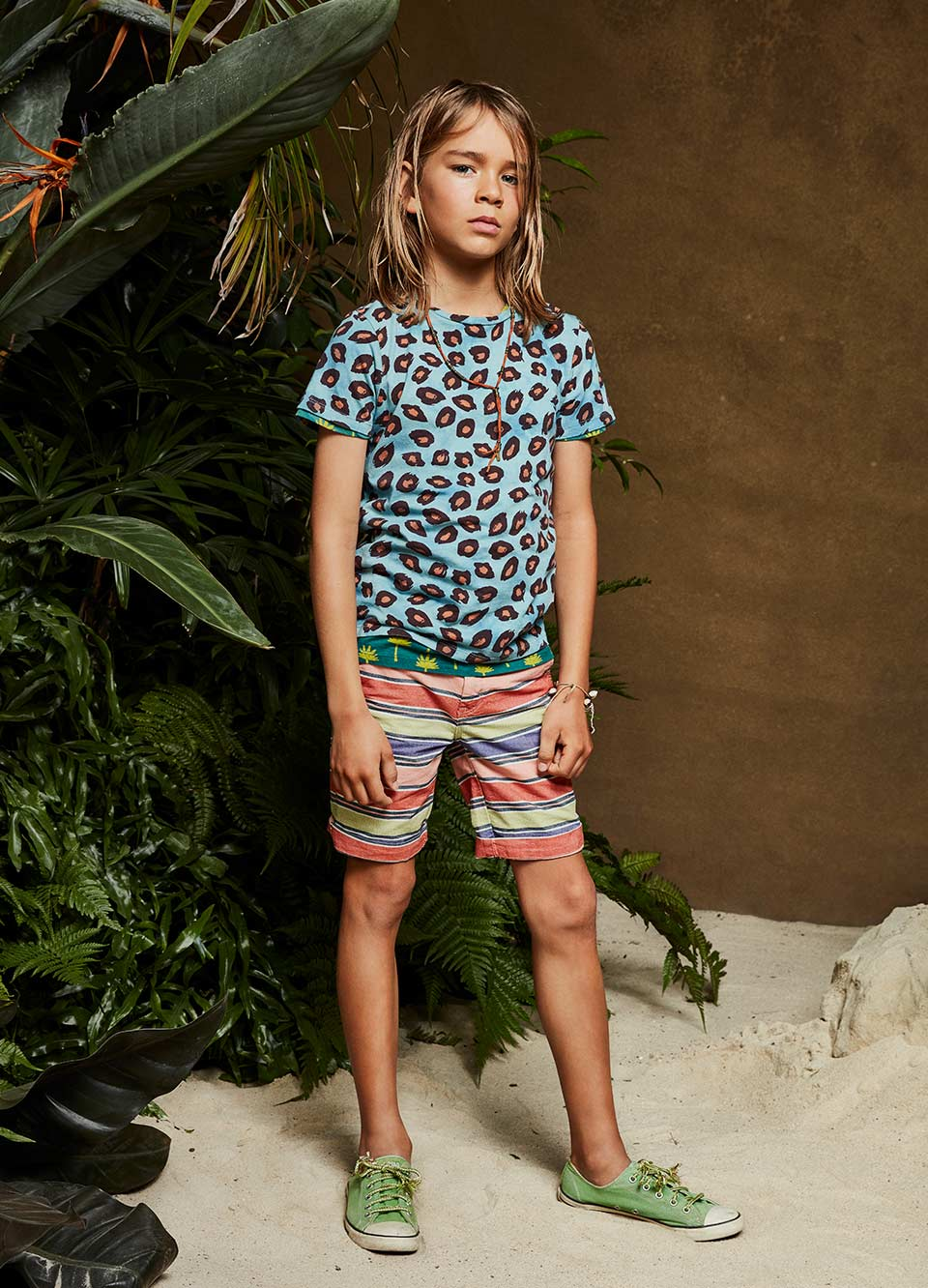 Beachwear essentials for boys