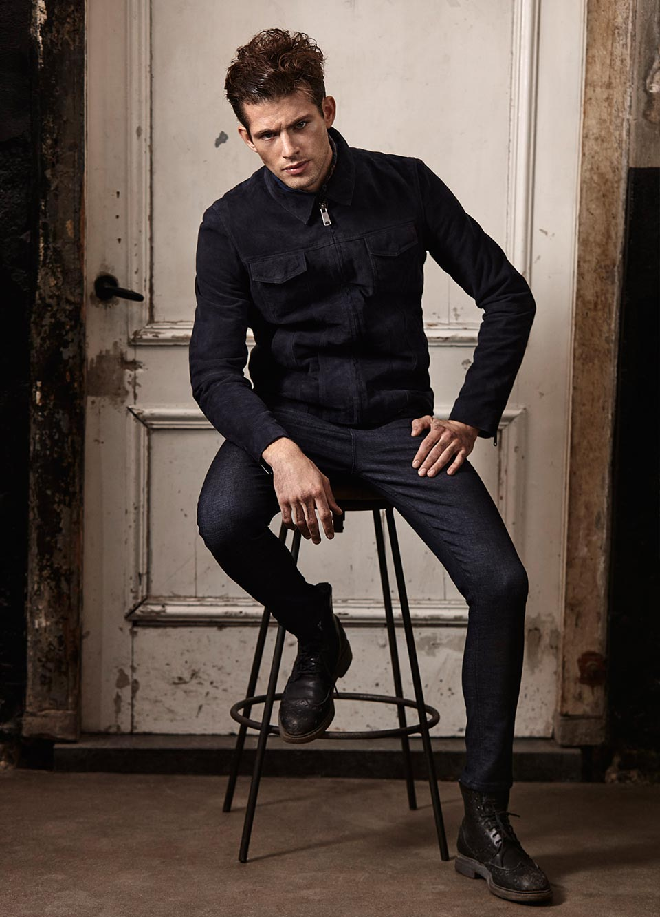 Amsterdams Blauw men collection