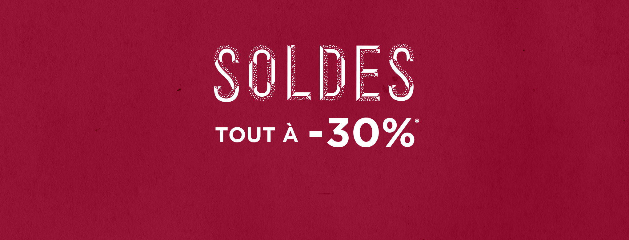 Sale all at 30%
