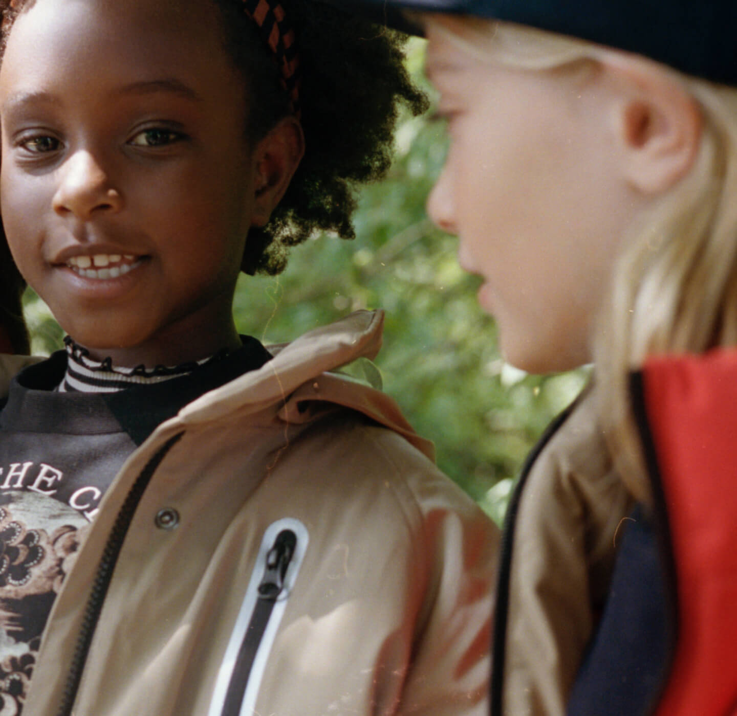 Outerwear campaign kids 2021