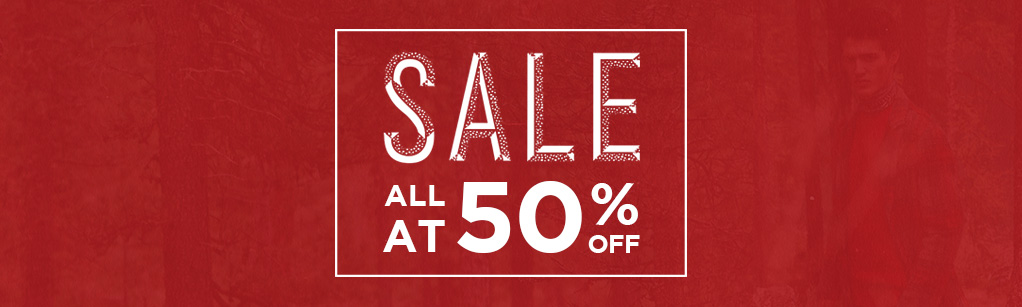 All At 50% Off Sale