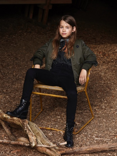 La Milou denim for girls