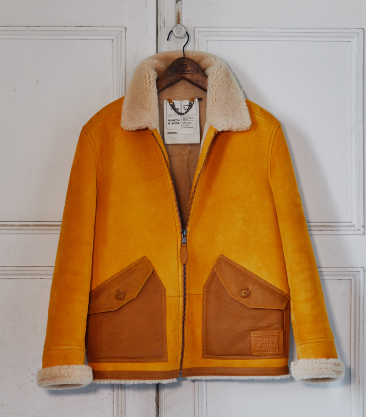 Shearling jackets women and men