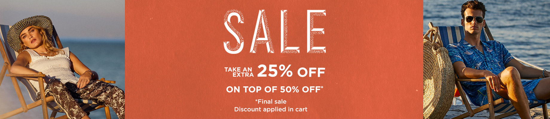 Extra 25% off sale final sale